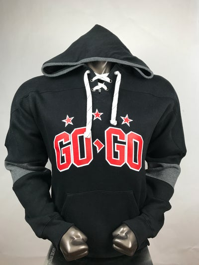 Image of LOVEDCGOGO- 1975 Hockey Hoodie.