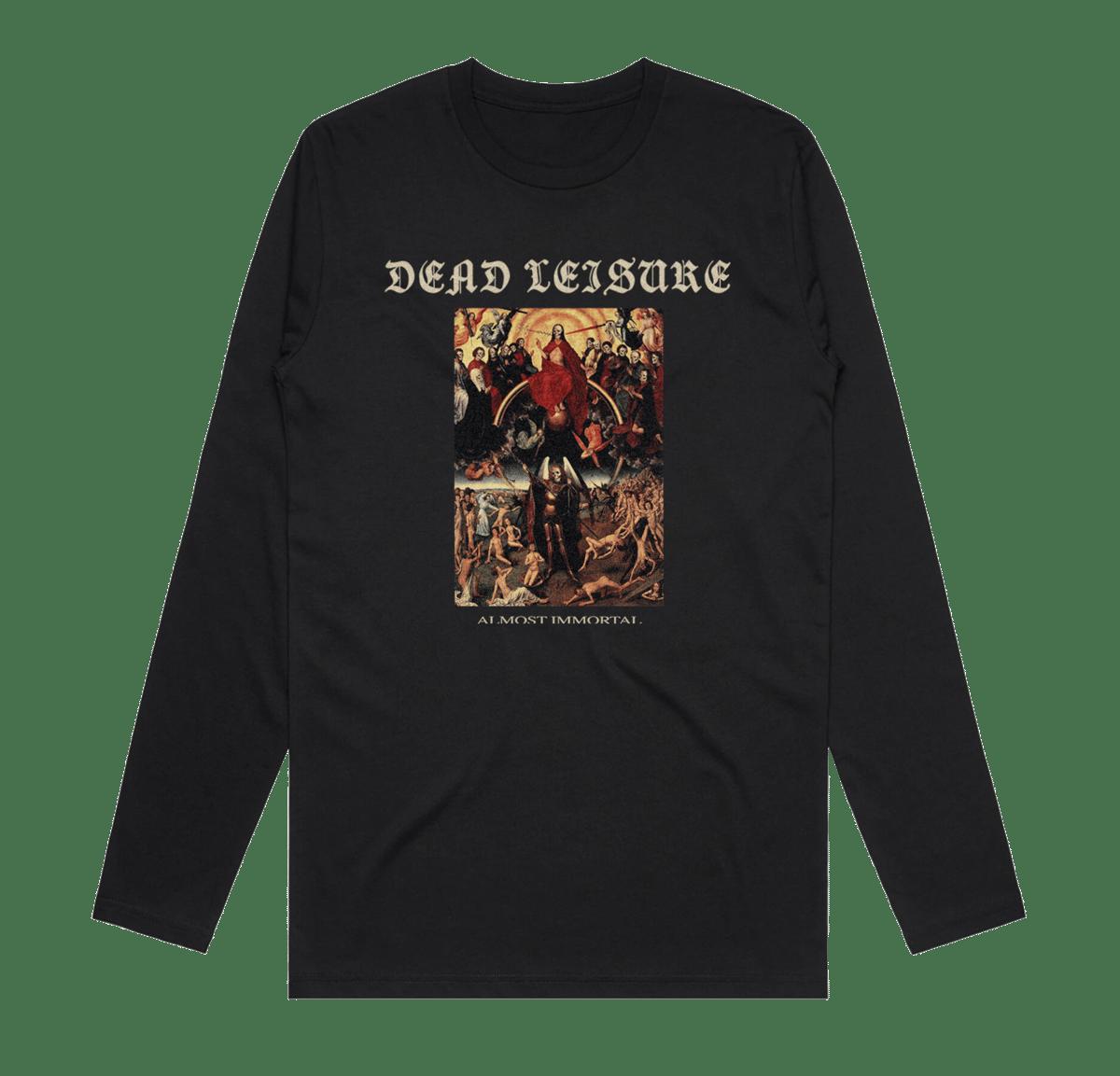 Almost Immortal Long Sleeve T-shirt - Black
