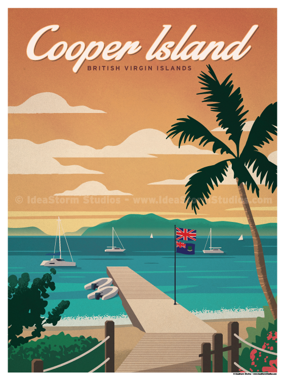 Image of Cooper Island Poster