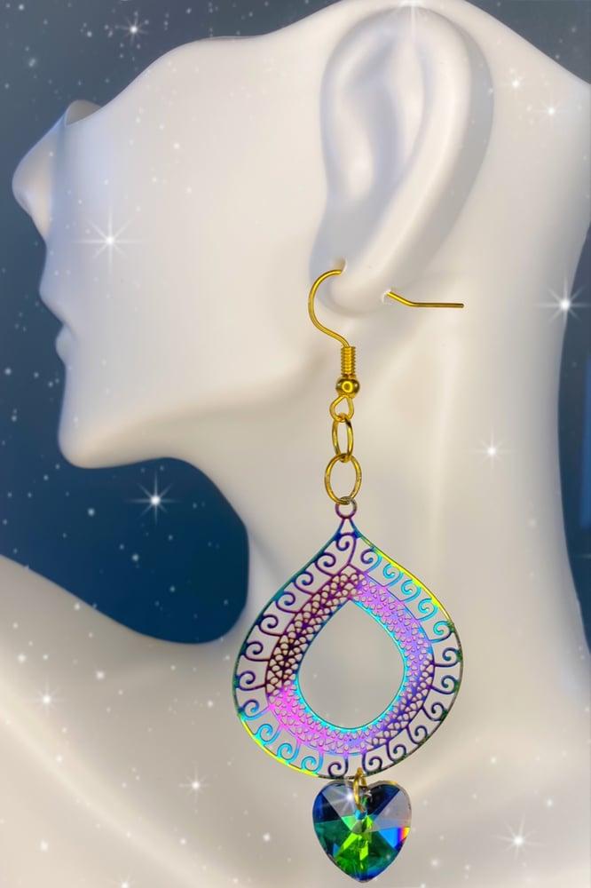 Image of rainbow earrings 1