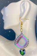 Image 1 of rainbow earrings 1