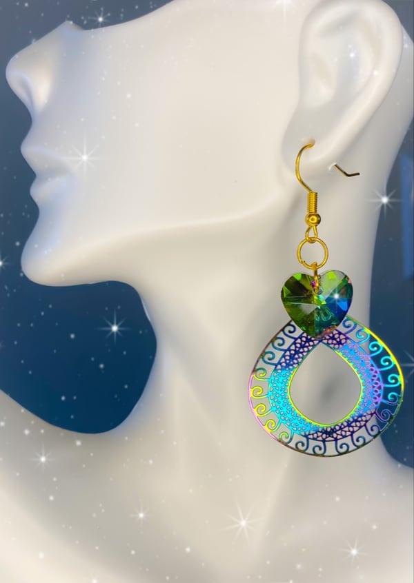Image of rainbow earrings 2