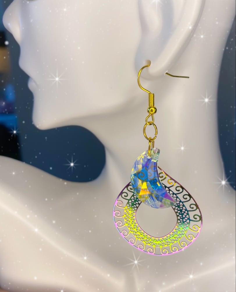 Image of rainbow earrings 3