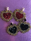 New! Corazón Sagrado Earrings