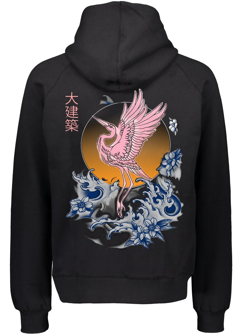 Image of EDIFICE JAPAN CRANE PULL OVER HOODIE