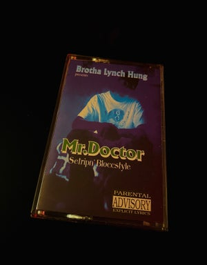 """Image of MR. Doctor """"Settripin' Bloccstyle"""""""