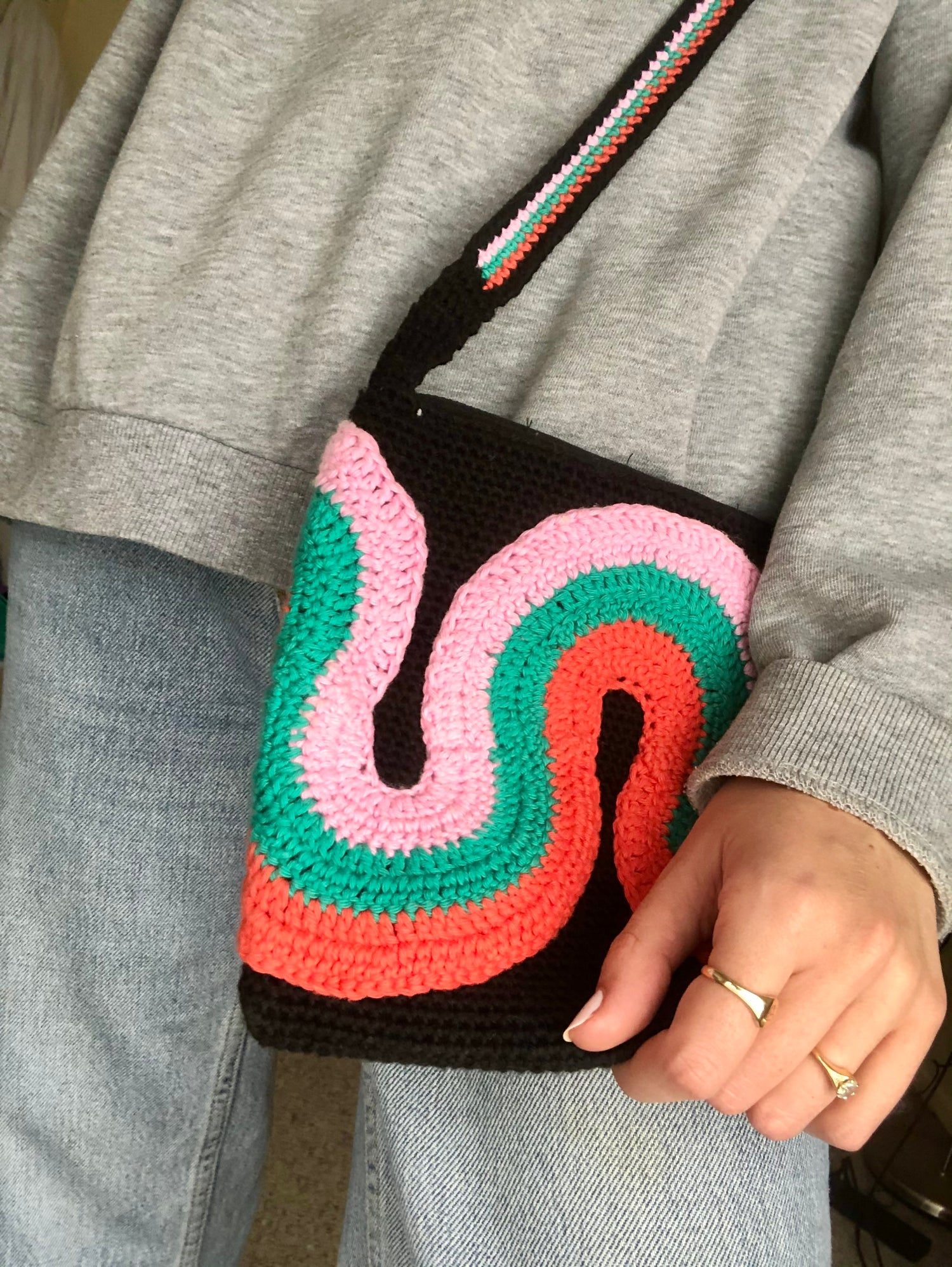 Image of Retro Waves Bag