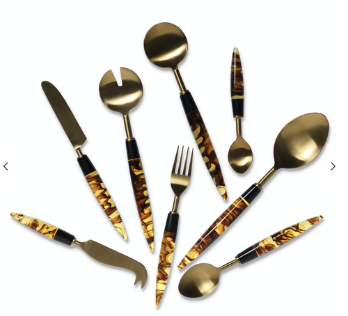 Image of Tortoise Cutlery Set (8pieces)