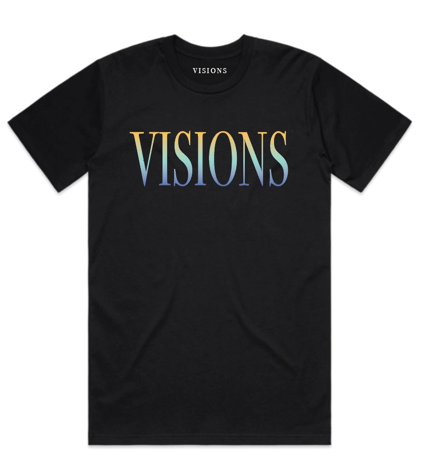 "Image of VISIONS ""FASHION TOUR"" T-SHIRT (MULTI-COLOR)"
