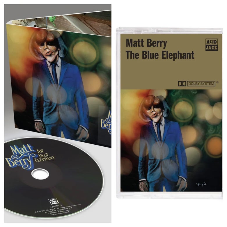 Image of Matt Berry 'The Blue Elephant' - Cassette + CD (Pre-Order)