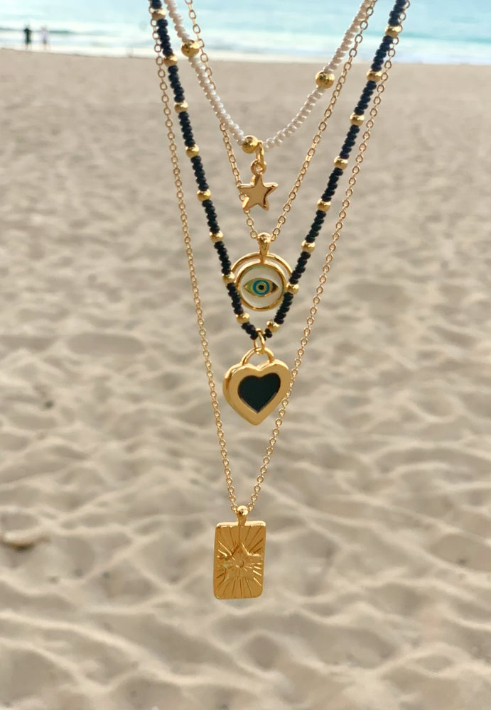 Image of Lucky Black Necklace