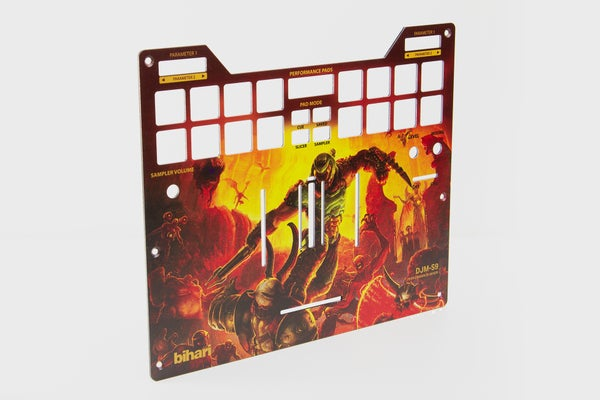 Image of DJM-S9 Doom Metal Faceplate