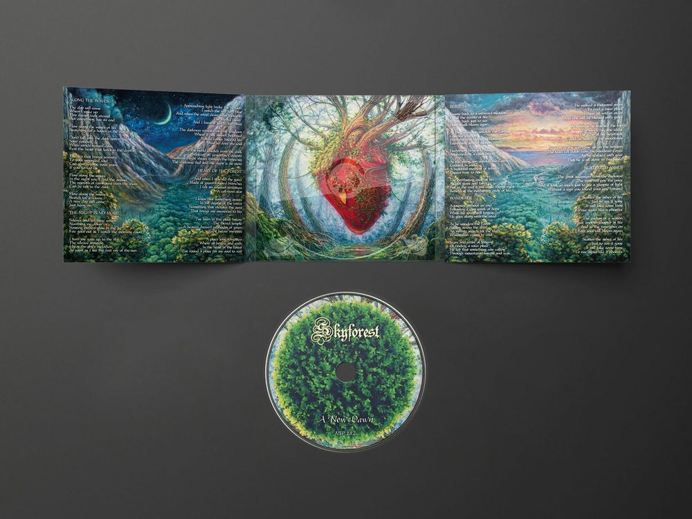 SKYFOREST - A New Dawn / CD Digipak