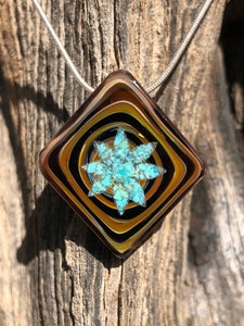 Image of Star Turquoise Pendant