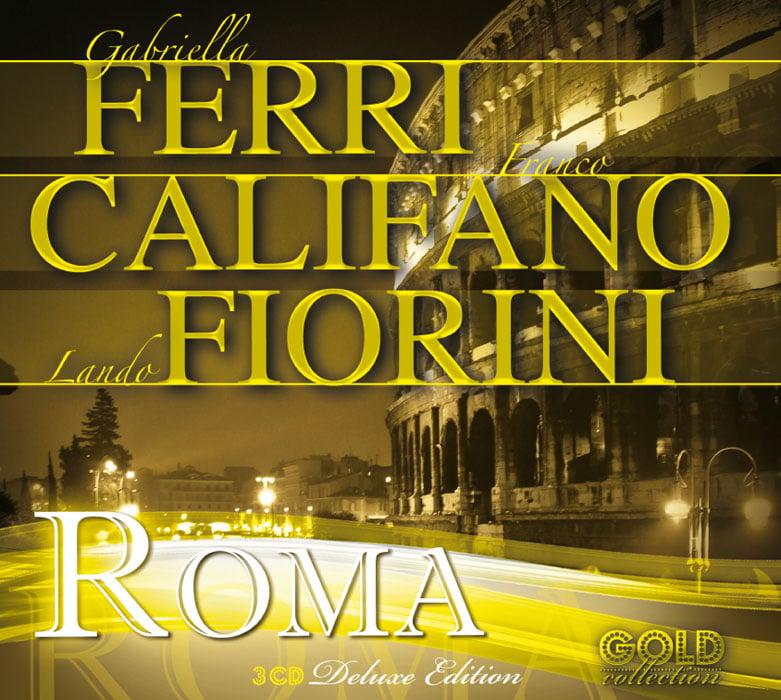 ATL644-2 // FERRI, CALIFANO E FIORINI - ROMA (TRIPLO CD COMPILATION)