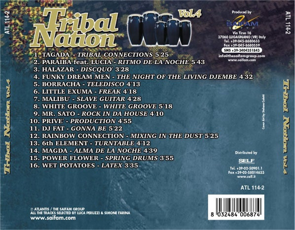 ATL114-2 // TRIBAL NATION VOL.4 (CD COMPILATION)