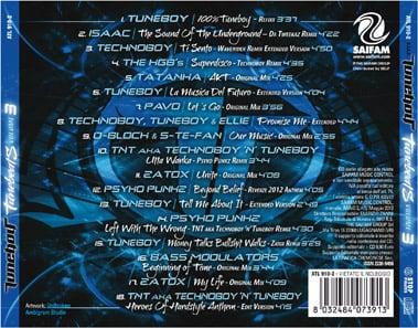 ATL910-2 // TUNEBOY - TUNEBEATS VOL. 3 (CD COMPILATION)