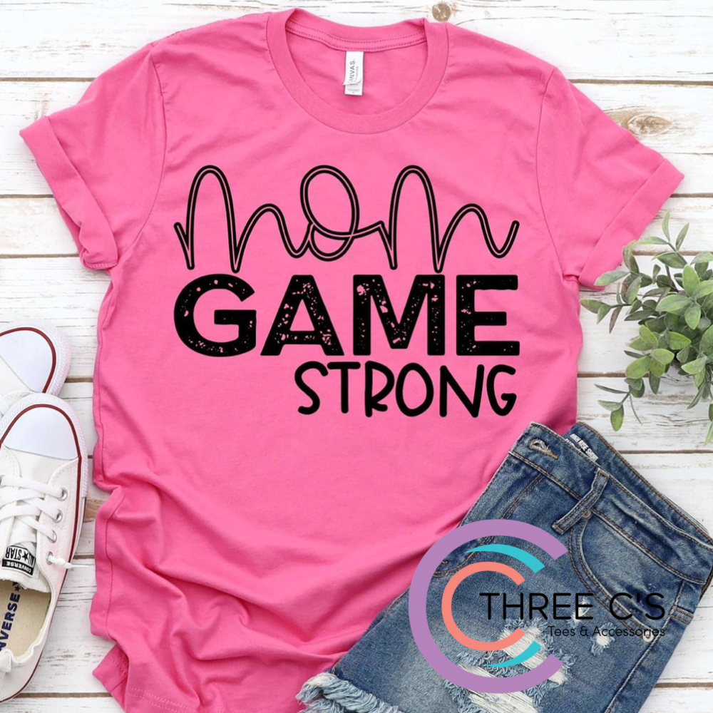 Image of Mom Game Strong Tee