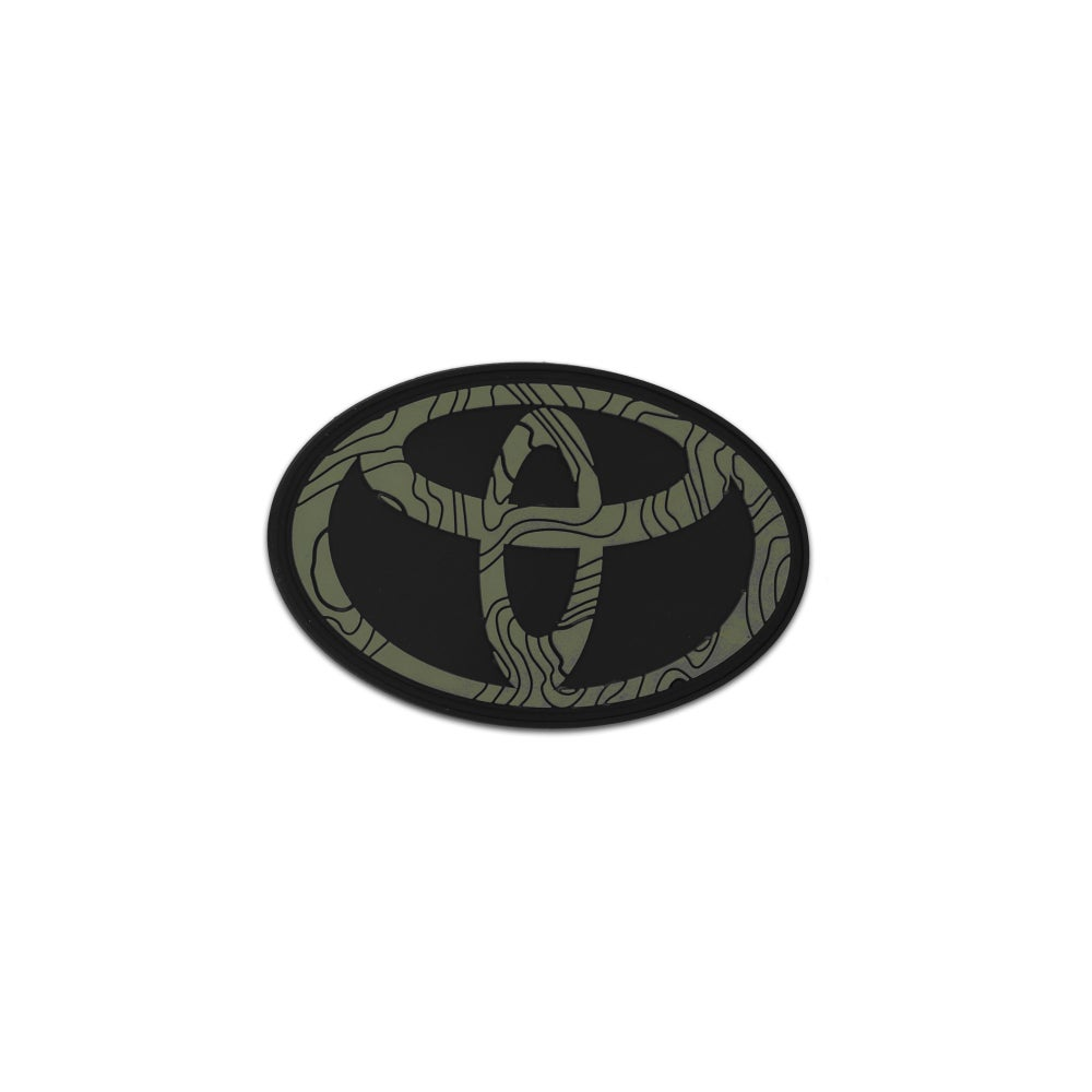 Image of Car Series: Toyota Tamography™ Olive Drab Green Patch