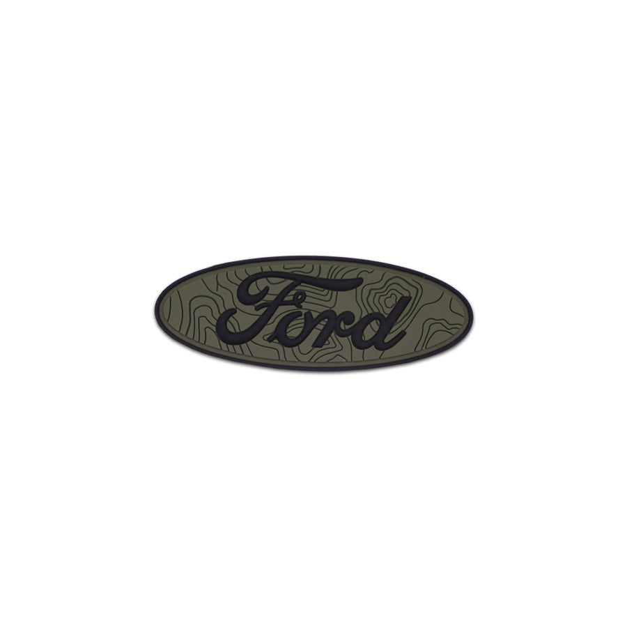 Image of Car Series: Ford Tamography™ Olive Drab Green Patch