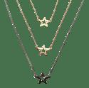 Collier Star // Star Necklace 65 cm