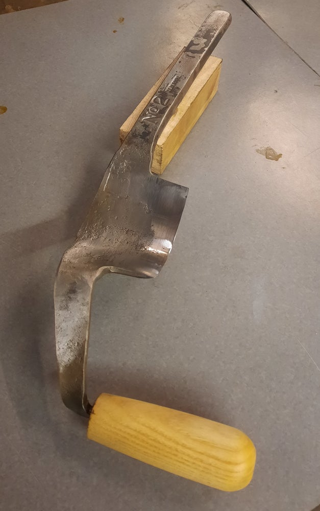 """Image of No2 size """"Crum Knife"""" or """"Jigger"""""""