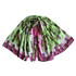 Green and Rose Gifinas Scarf Image 2