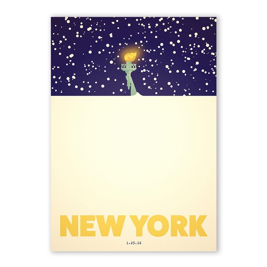 New York Blizzard 1.23.16