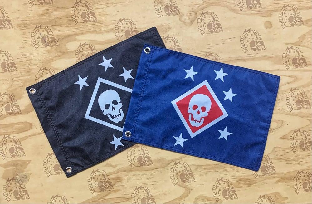 Image of Small Raider Flag