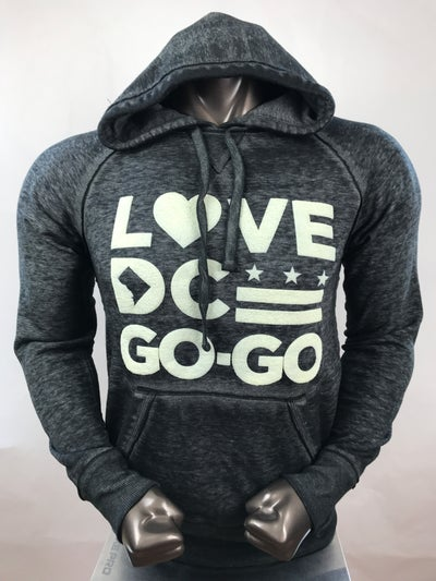 Image of Love DC Go-Go - Carbon Hood