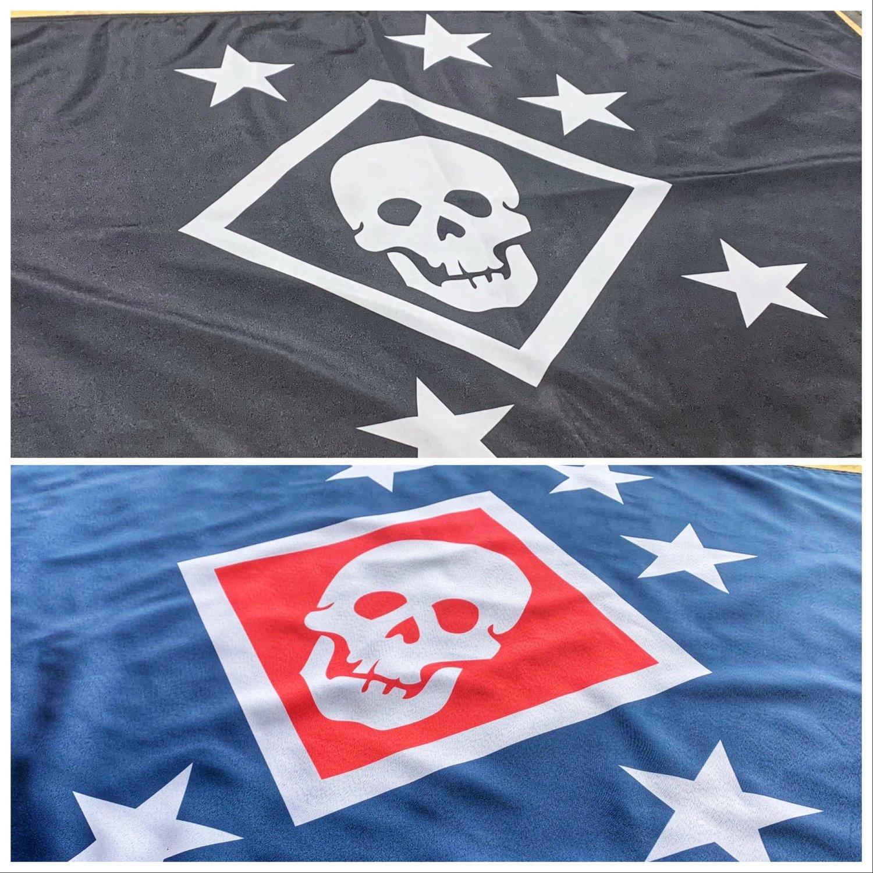Image of Large Raider Flag