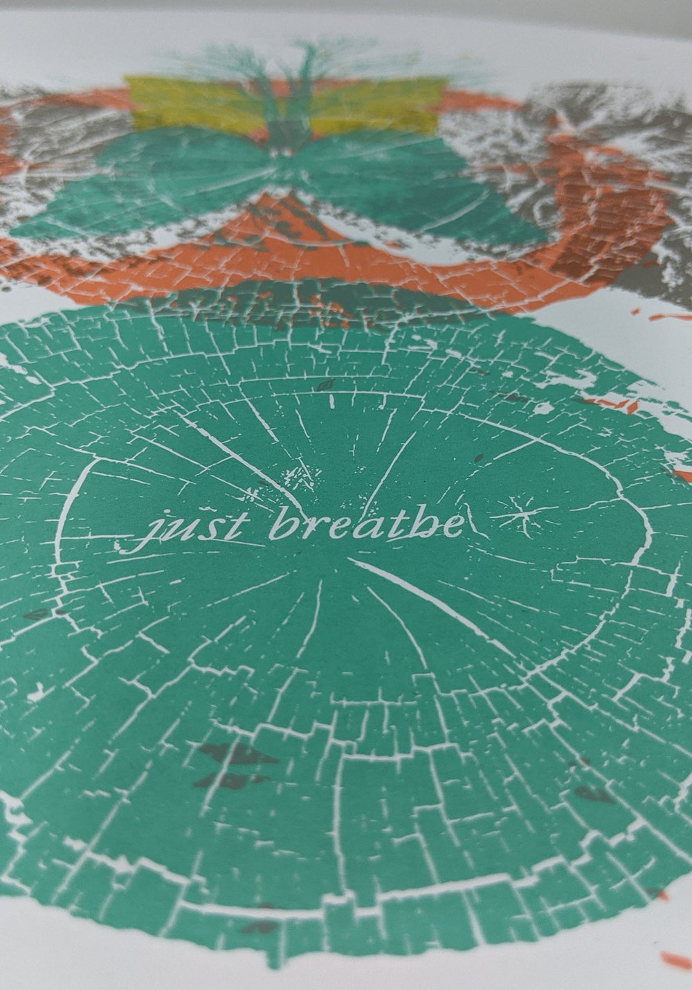 """Pearl Jam Group show - """"Just Breathe"""" ** VARIANT** poster"""