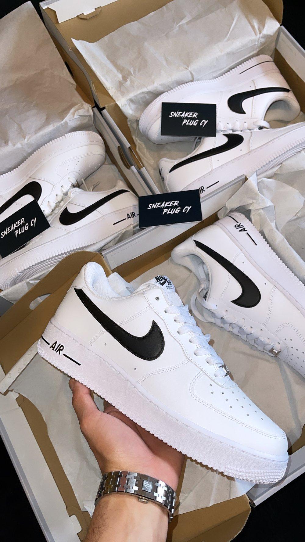 Nike Air Force 1 Low / White & Black