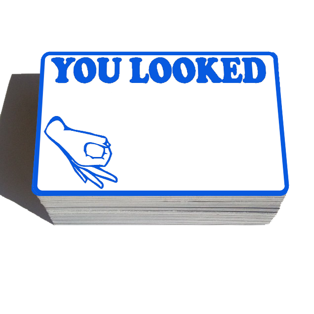 Image of You Looked Blanks