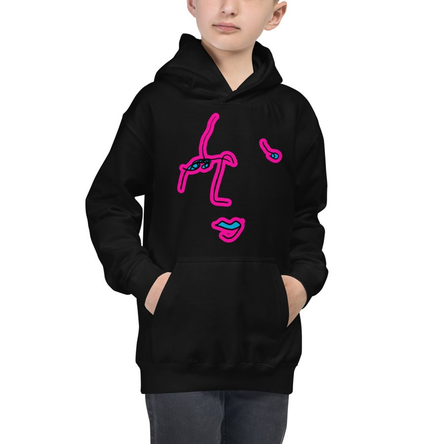 Image of Kids Commonality Hoodies Black