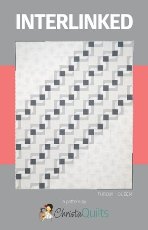 Interlinked Quilt Kit Baby Blue - Fabric Only