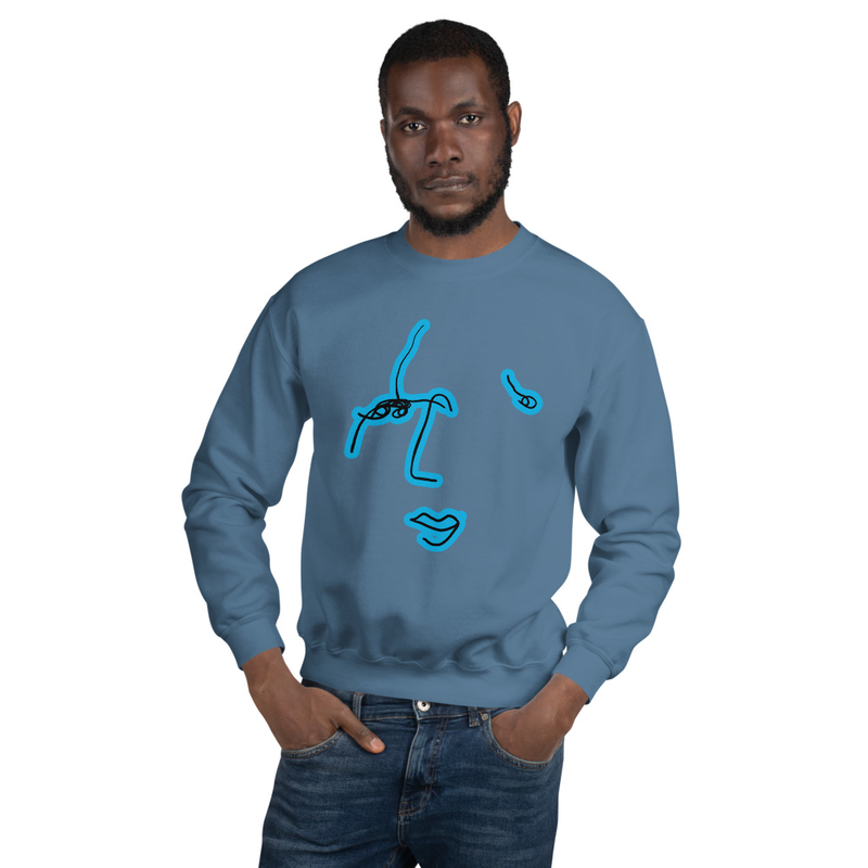 Image of Commonality Sweatshirt Indigo