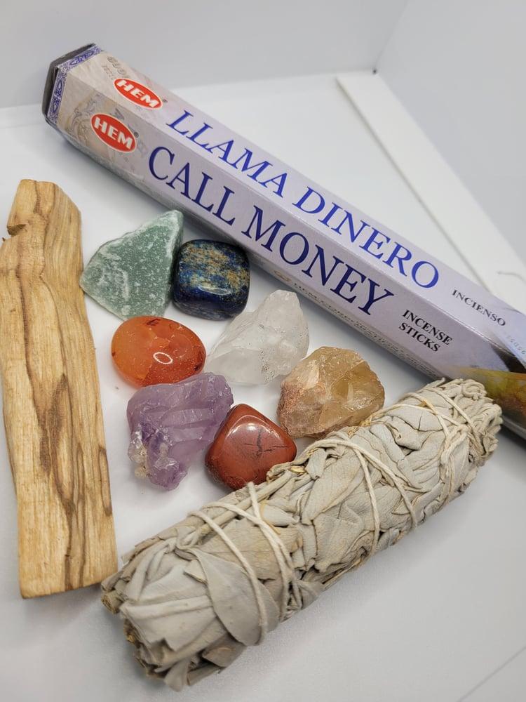 Image of Chakra cleansing/ balancing kit