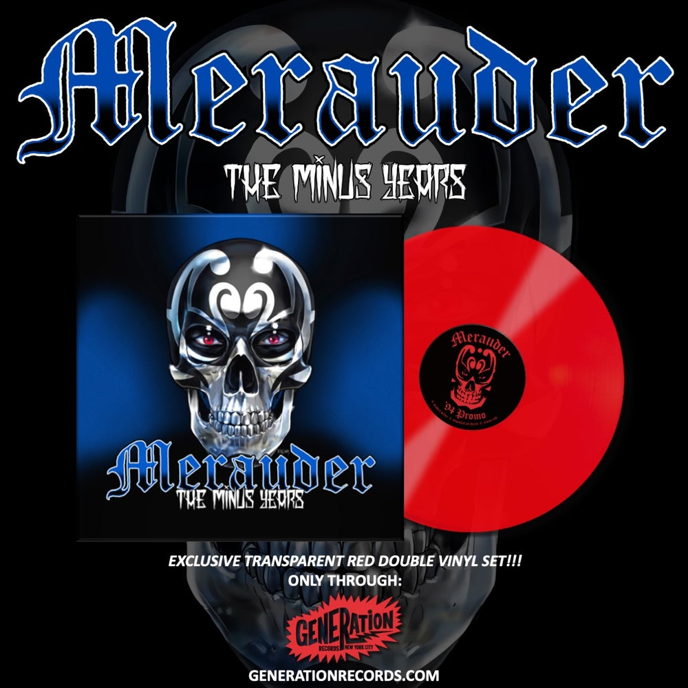 Image of Merauder-The Minus Years Generation Records Exclusive Red Vinyl 2x LP Pre-order