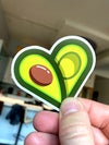 Heart Avocado Magnet