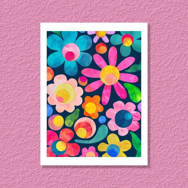 Image of ART PRINT | Floral Fields