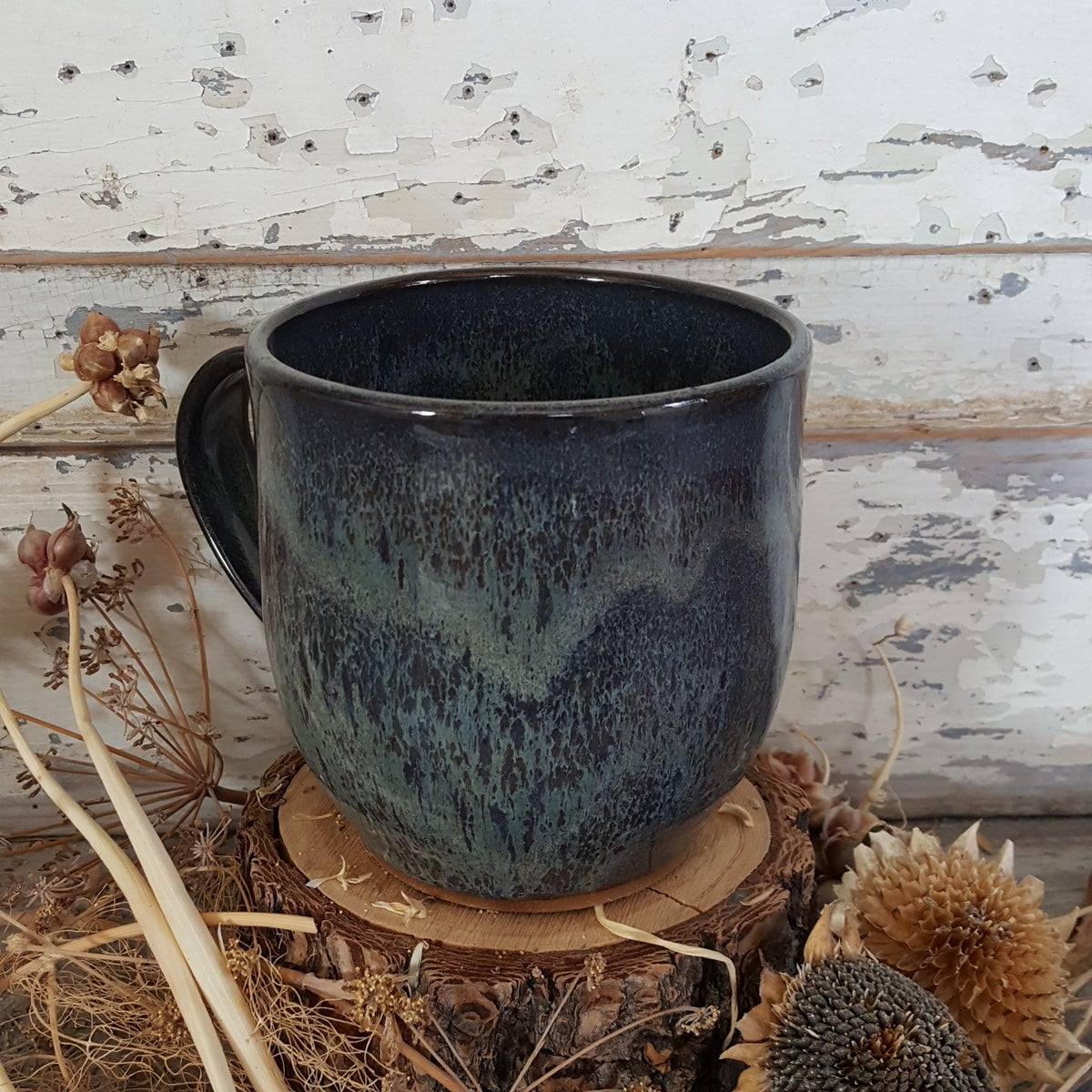 Image of By The Bucket Full Mug: Night Sky (Blue)