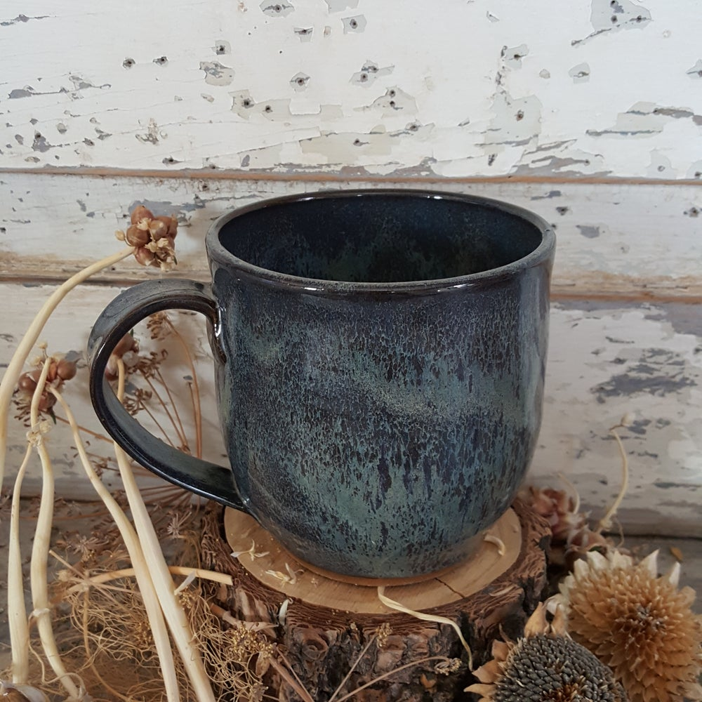 Image of By The Bucket Full Mug: Night Sky (Blue)