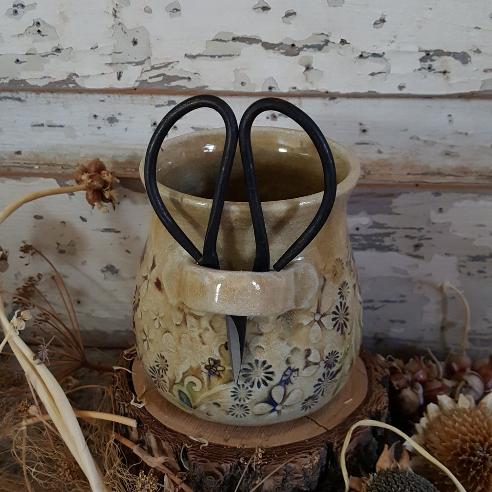 Image of Small Crafter's Catch-all and snips: Mountain Flower Honey  #3