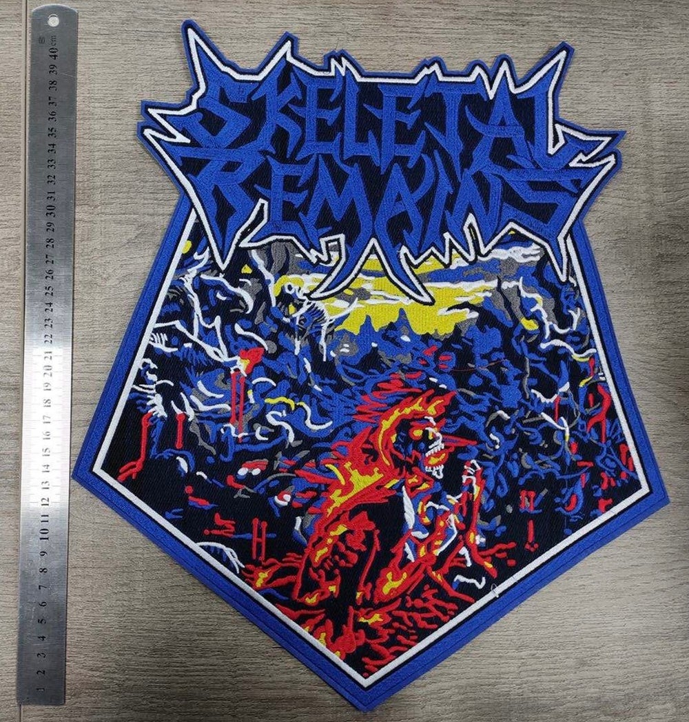 Condemned To Misery Embroidered Backpatch