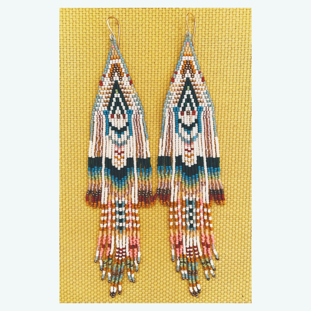 Image of Prism Tapestry Earrings