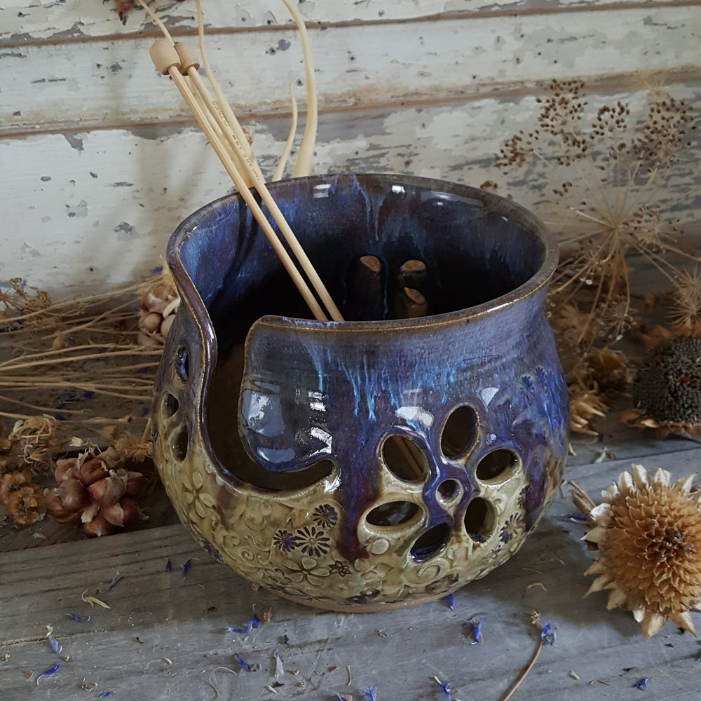 Image of Yarn Bowl for Your Wool: Wildflower Child just in time for Spring!