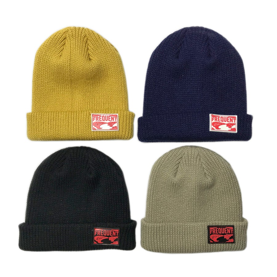 Image of Frequent Driver Patch Beanie