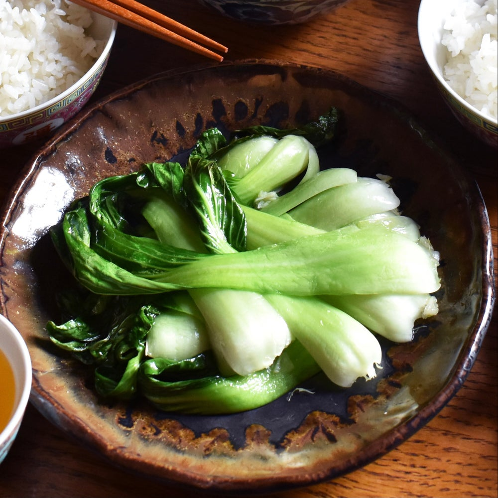 Image of Garlic & Ginger Pak Choi 薑蒜炒白菜