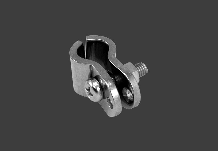 Image of Splitscreen Mirror clamp - stainless steel